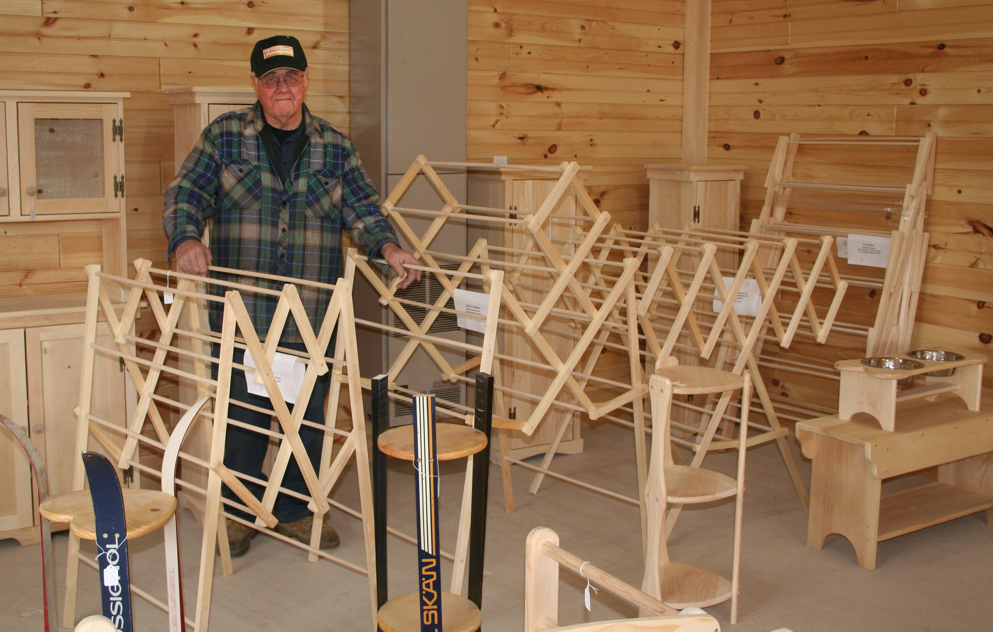 Build Plans Wooden Rack For Drying Clothes Wooden Plans For Wooden