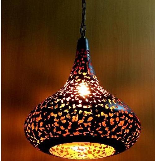 moroccan celing lighting, pendant light