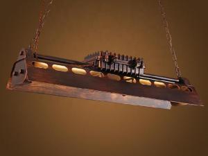 metal chandelier light