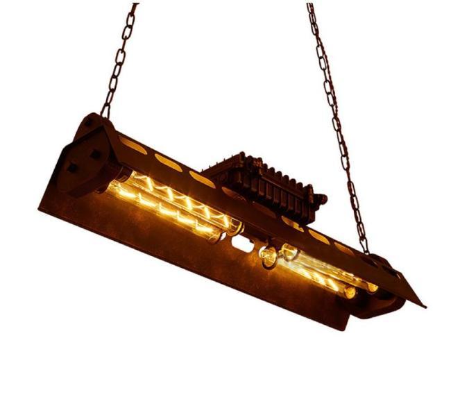 metal industrial chandelier