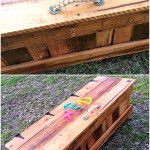 Pallets Made Toy Box For Kids Wood Pallet Furniture