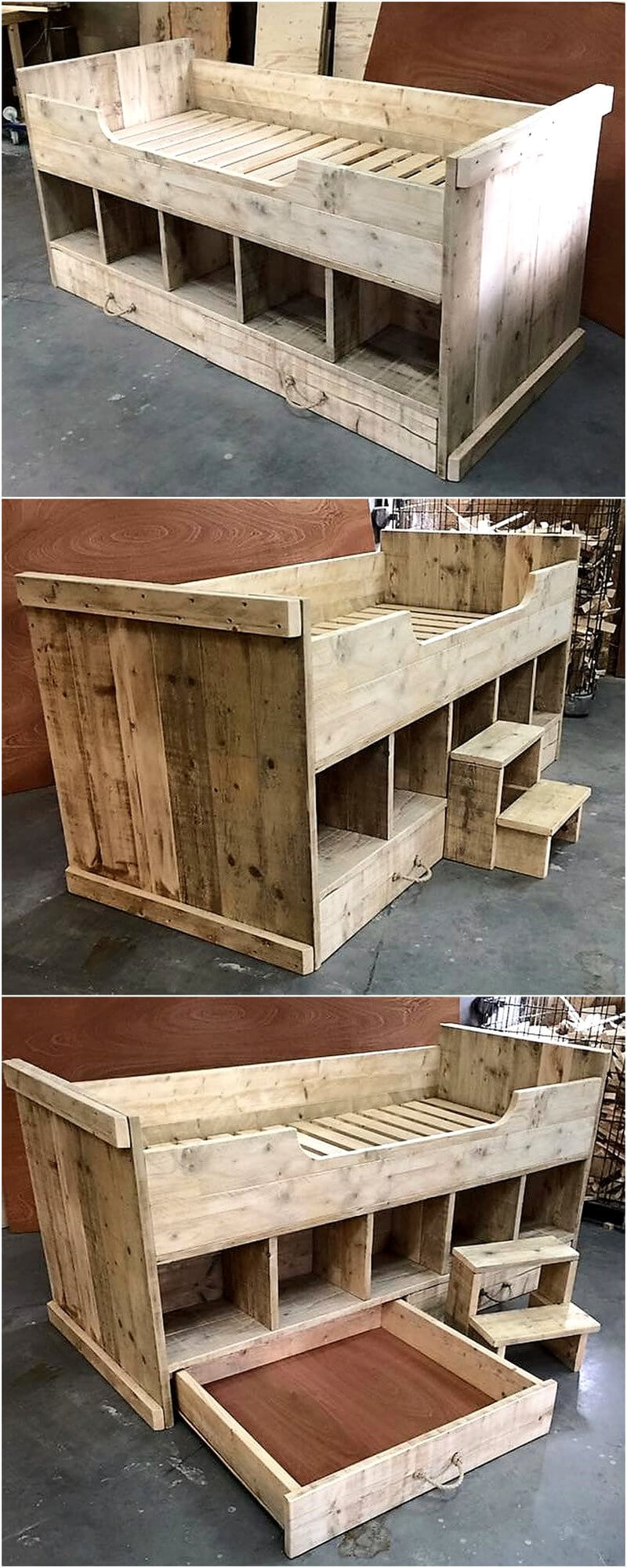 Creative Creations With Reclaimed Wooden Pallets Wood
