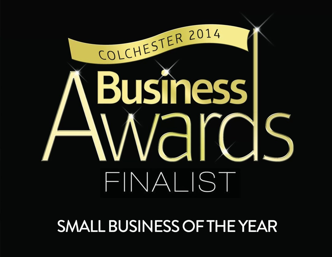 Colchester Business Awards 2014 finalist small business of the year