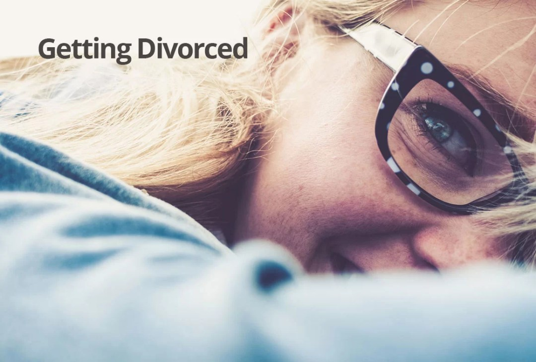 Getting divorced financial advice woman happy