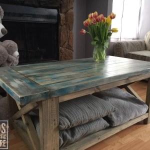 Farm Style Coffee Table