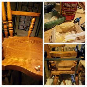 Captains chair repair