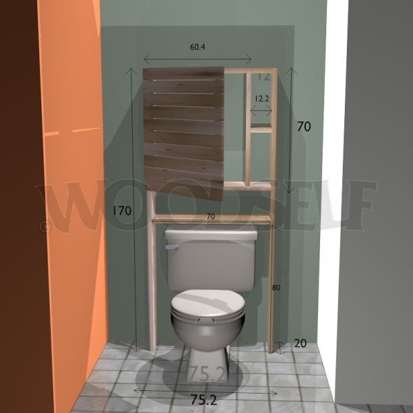 Over Toilet Cabinet Woodself Free Plans For Woodworking