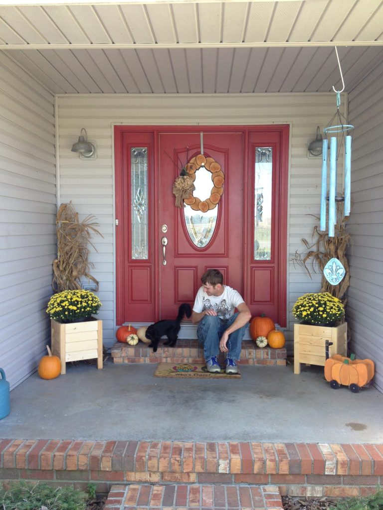 Spring Front Door Refresh