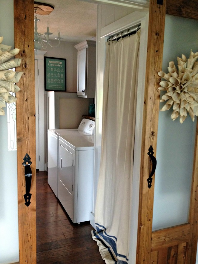 laundry room washer side doors