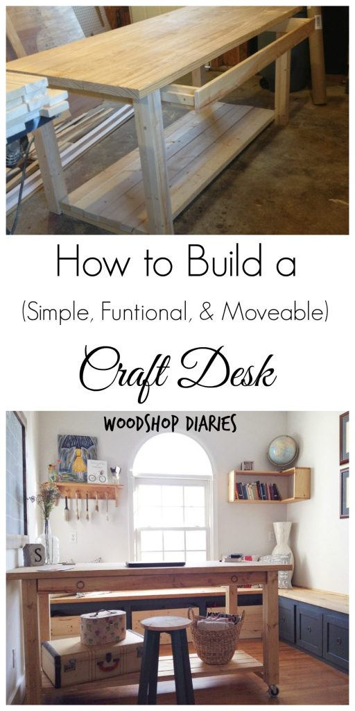 How to Build a DIY Craft Desk
