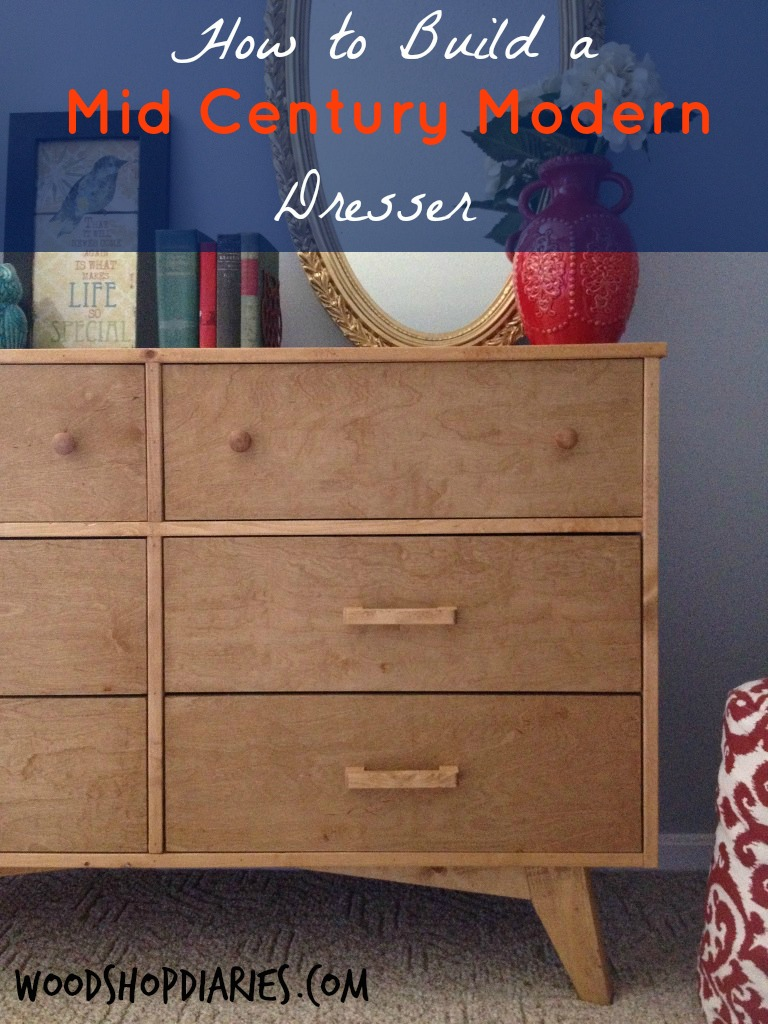 The South Wing Project Part 3 Diy Mid Century Dresser