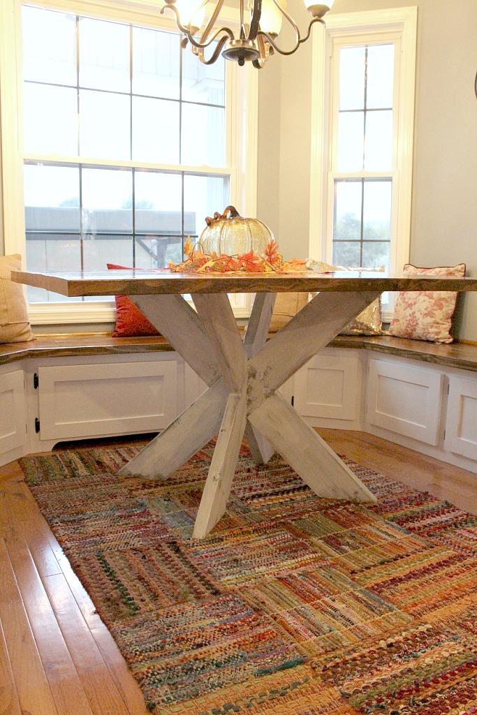 DIY X Base Dining Table