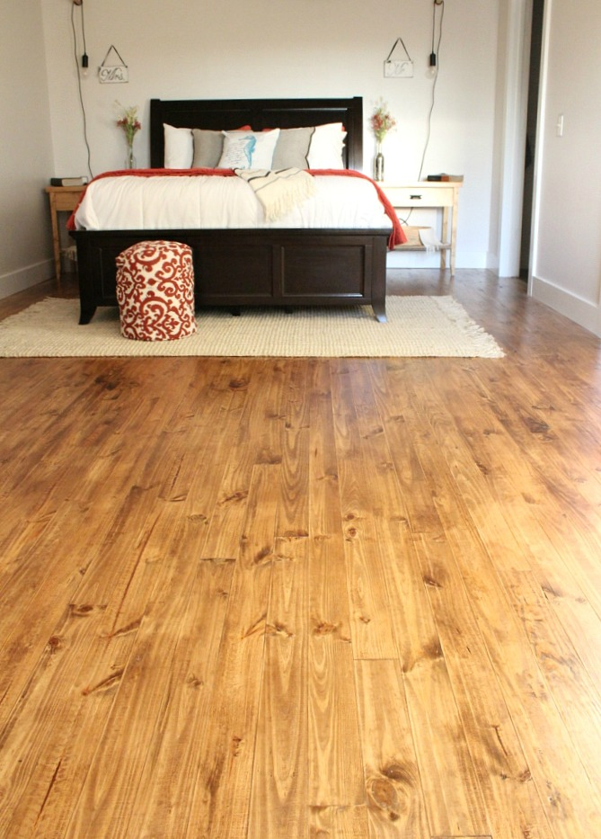 How we installed real wood floor for $1.50 per sq ft!!