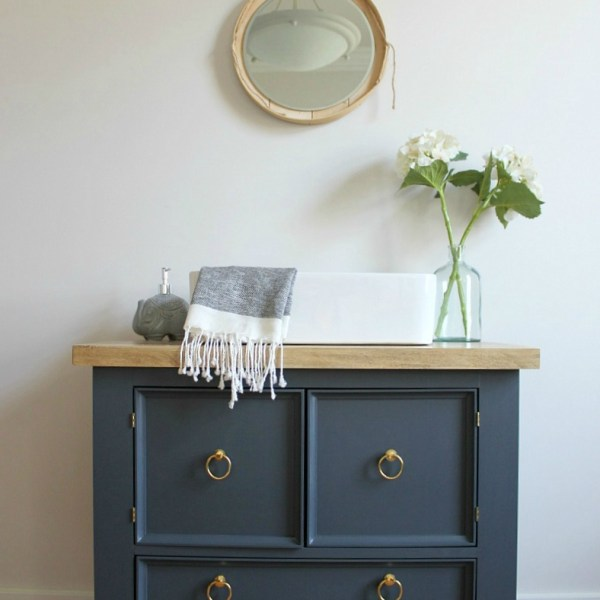 How to Build a DIY Single Bathroom Vanity