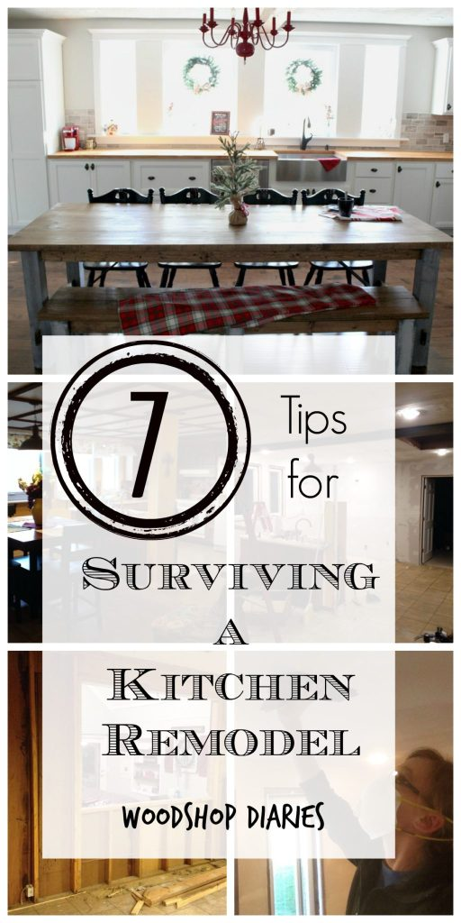 7 tips for surviving a remodel and save time, money, and stress