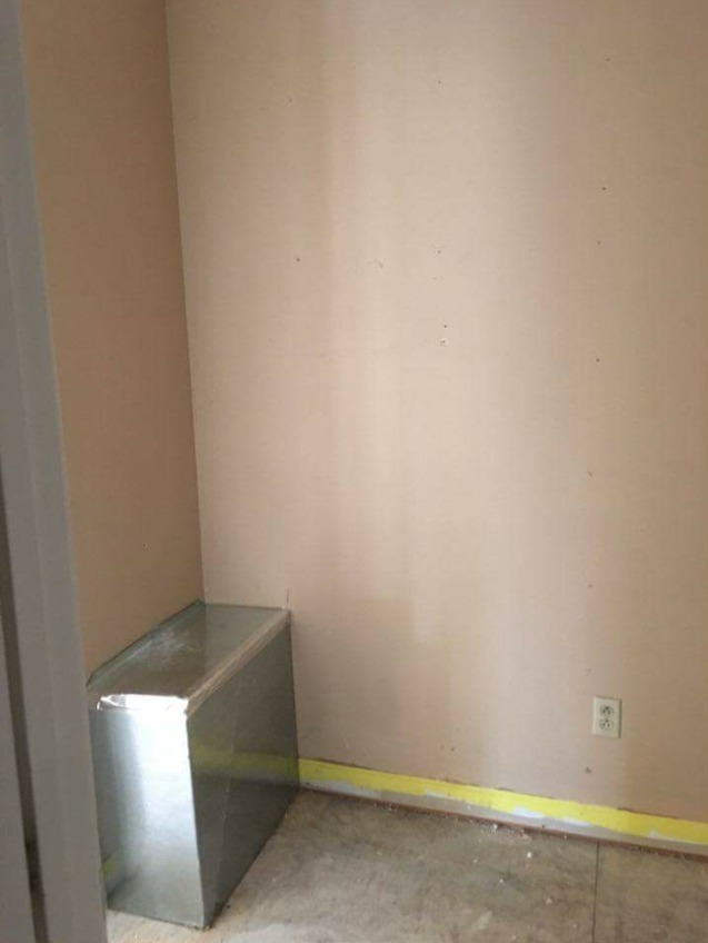 Before and After: DIY Mudroom Built Ins