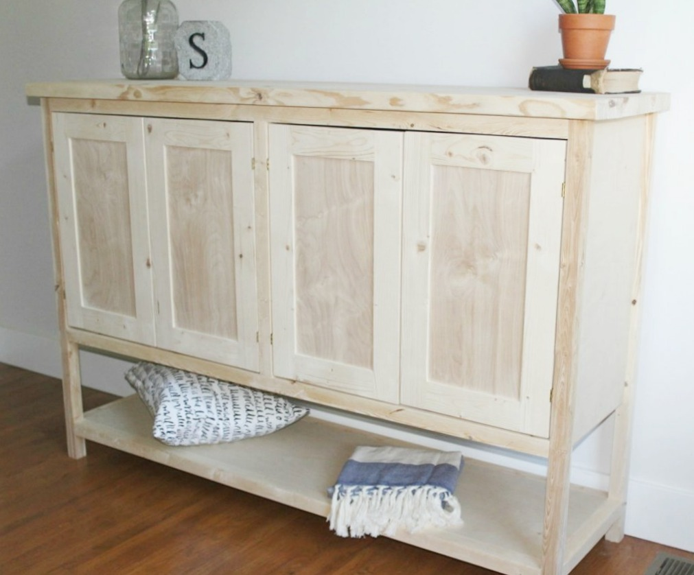 Wonderful Console Cabinet With Doors Design Ideas