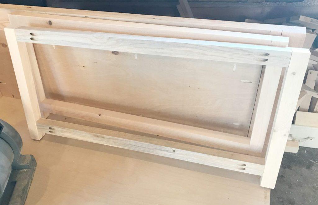 DIY Storage Chest Frame