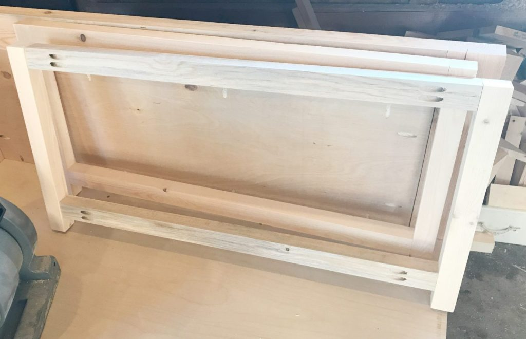 DIY Storage Chest Frame