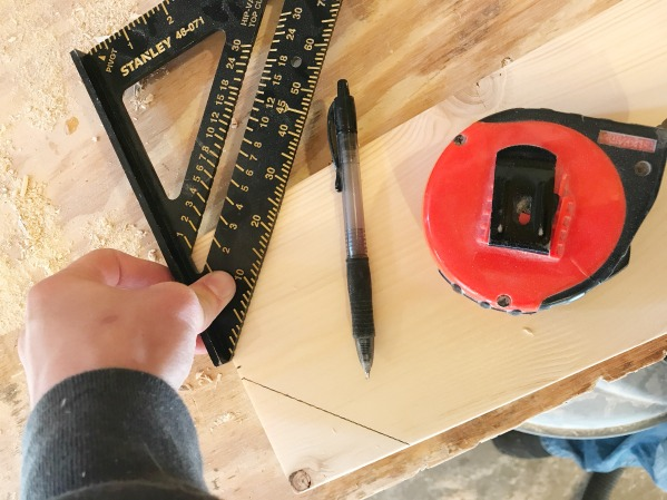 How to make a truck and trailer DIY stocking hanger box