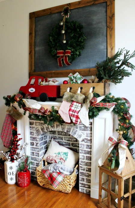 How to build a truck and trailer shaped DIY stocking hanger box