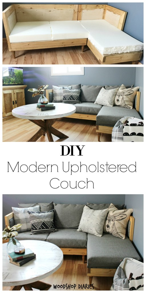 How To Build Your Own Diy Couch Free Building Plans And Upholstery Tutorial To