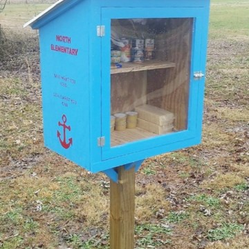 How to Build an Outdoor Community Food Pantry--Free Building Plans