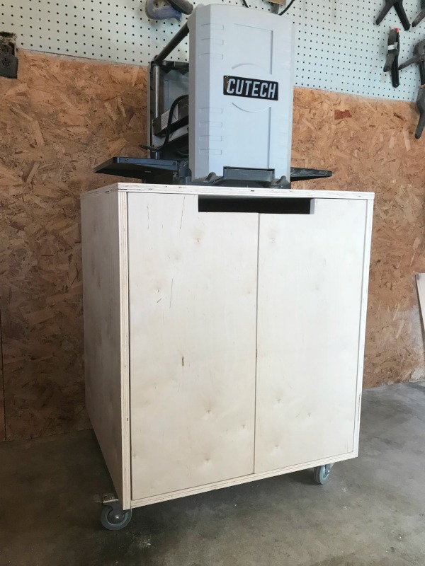DIY Mobile Tool Cart from a single sheet of plywood!