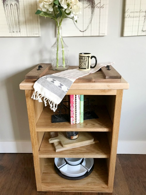 How to Build a Simple DIY Bookshelf with this free tutorial and woodworking plans