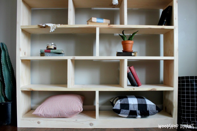 its really sturdy and that helps prevent any sagging in the middle its a really simple design but usually bookshelves are haha - Bookshelves Diy