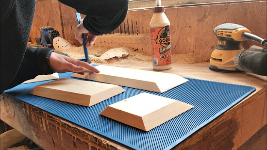 glue up diy bluetooth speaker box - Woodshop Diaries