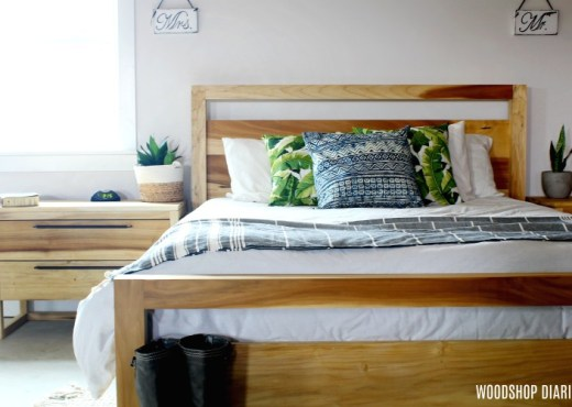 How to build your own Modern Style Bedroom Suite