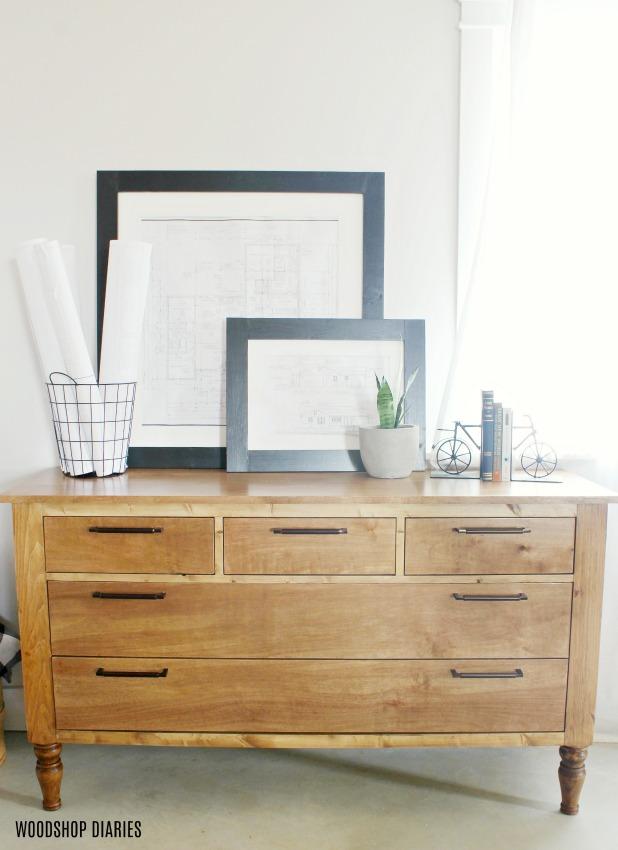 DIY Dresser Plans and Tutorial Video