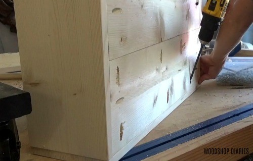 Assemble DIY wooden Wagon Box