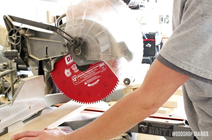Improve quality with a fine finish saw blade--workshop MVP number 1