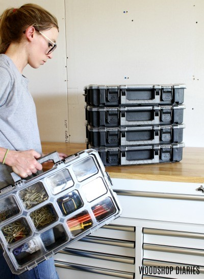 Workshop Organization starts with organizing your small parts