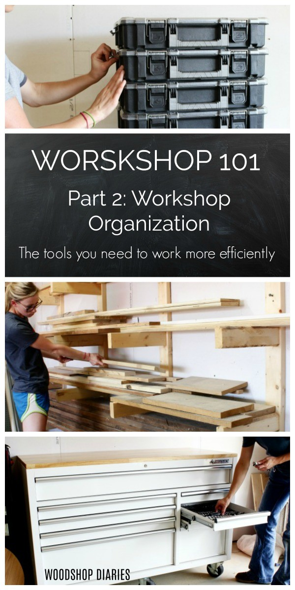 Workshop 101 Part 2--Workshop Organization and the tools you need to work more efficiently