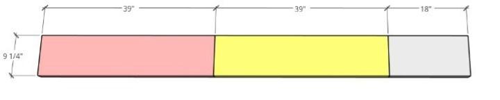 One 2x10x8 cut breakdown