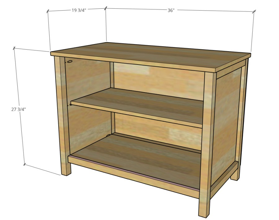 overall dimensions diagram of easy tv stand cabinet
