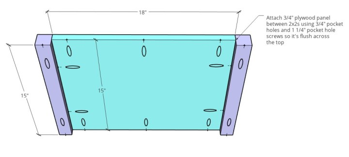 diagram of cabinet bottom subassembly