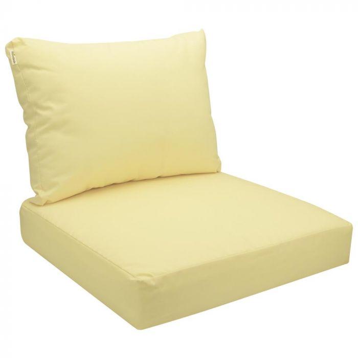 woodside replacement rattan garden patio furniture seat back cushions