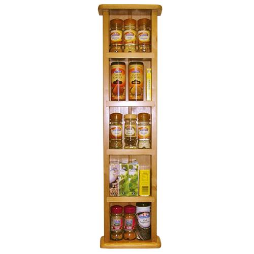 wood spice racks