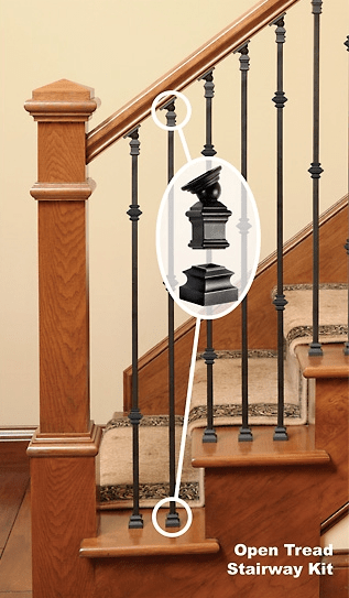 Installation Wood Stairs   Installing Wrought Iron Railings On Stairs   Railing Kits   Concrete Steps   Iron Balusters   Outdoor Stair   Stair Spindles