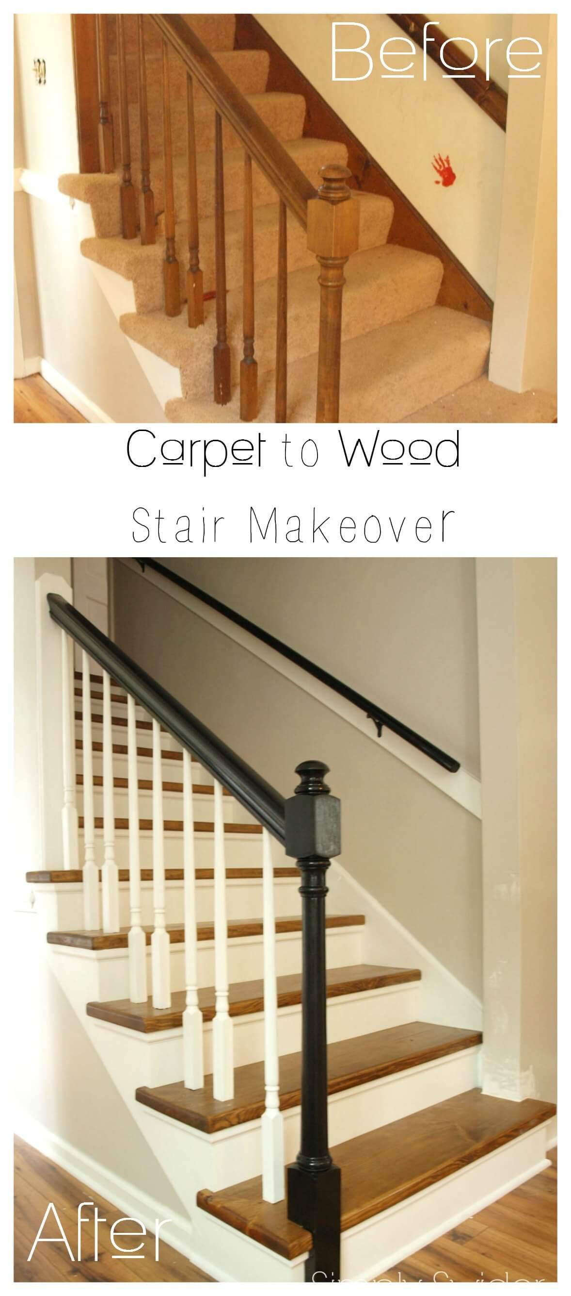 Top 5 Stair Remodel Ideas Best Diy Stair Makeovers