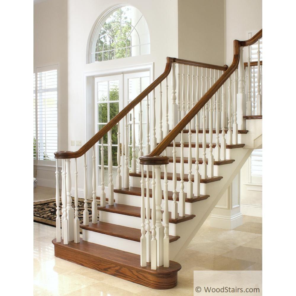 Wood Stairs6900 Handrail Wood Stairs Hand Railing Lj 6900 Profile   Hemlock Handrails For Stairs   Basement Stairs   Newel Caps   Wooden Stairs   Wood   Newel Posts