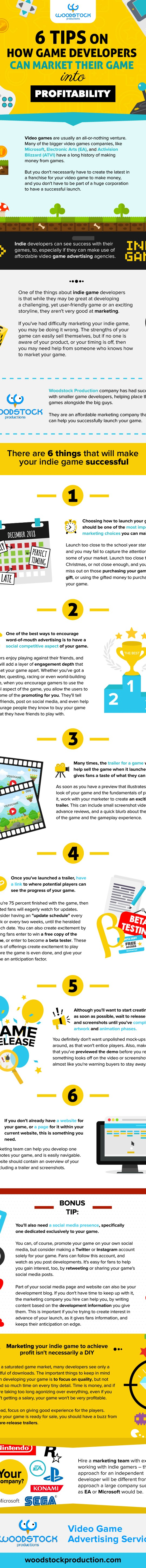 6 tips on how game developers can market their game into profitable
