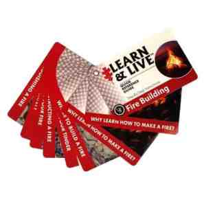 ust Learn & Live Cards – Fire Building