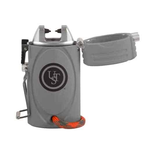 ust TekFire LED Fuel-Free Lighter Grey