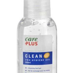 CARE PLUS VIRUS HAND PROTECTION. CONVENIENT POCKET/HANDBAG SIZE 30ML HYGIENE GEL