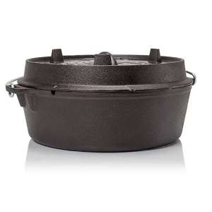 Petromax Dutch Ovens with plane bottom surface (Various Size)